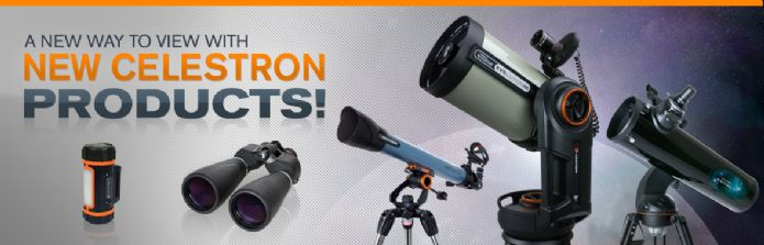 New Celestron products for 2016